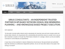 Sirius Business Group A/S